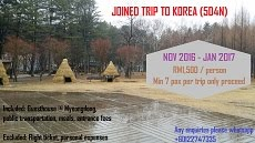 JOINED TRIP TO KOREA