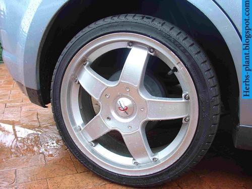 Nissan tiida car 2013 tyres/wheels - صور اطارات سيارة نيسان تيدا 2013