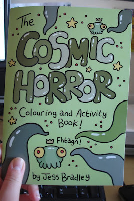 Cosmic Horror Colouring Book
