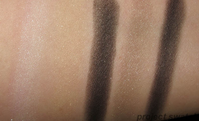 Wet n Wild Fergie Metropolitan Nights Eyeshadow Swatches