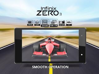Infinix Zero 3, harga Infinix Zero 3, Spesifikasi Zero 3, 4k Video, 4G LTE, Lollipop, harga handphone baru, new Android smartphone,