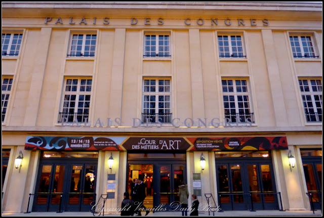Façade palais des congrès Versailles