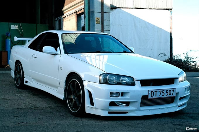 Nissan Skyline R34 Only Cars Carros Rebaixados Turbo