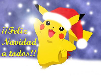 Feliz Navidad Pikachu