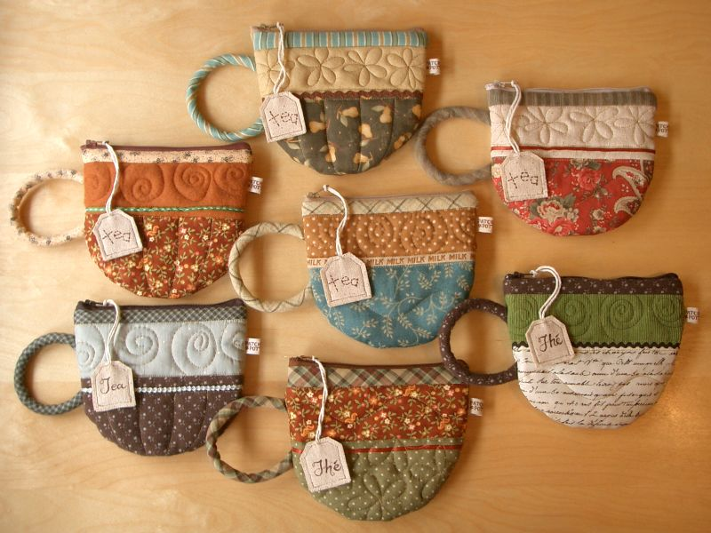 Small Quilted Gift Ideas To Make : PatchworkPottery: Pattern Shop News!