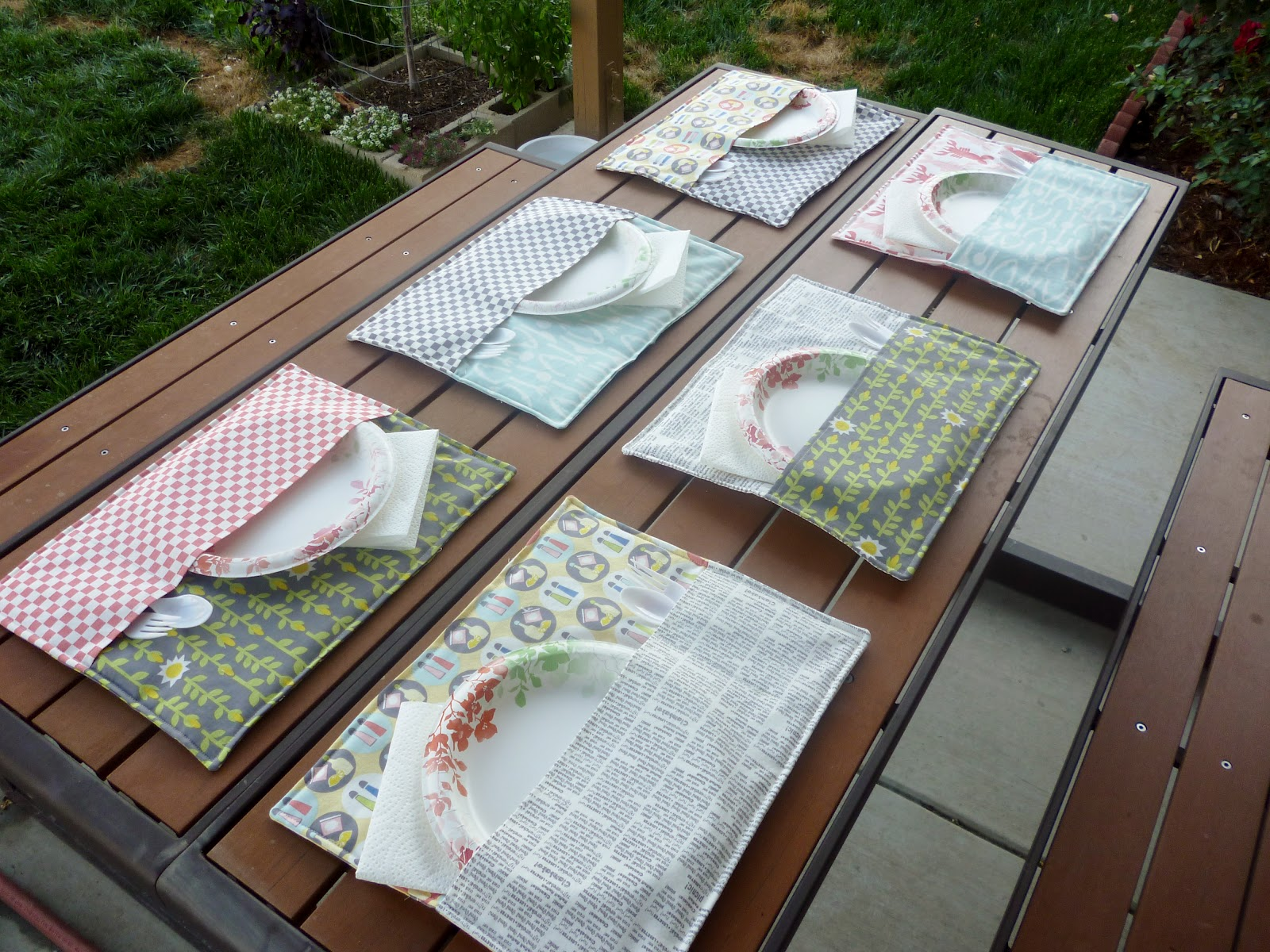 How to make dining table mats at home - Patio Place Mats