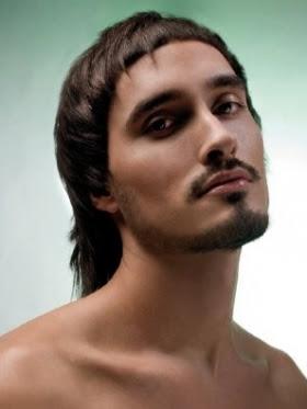 corte pelo medio hombre