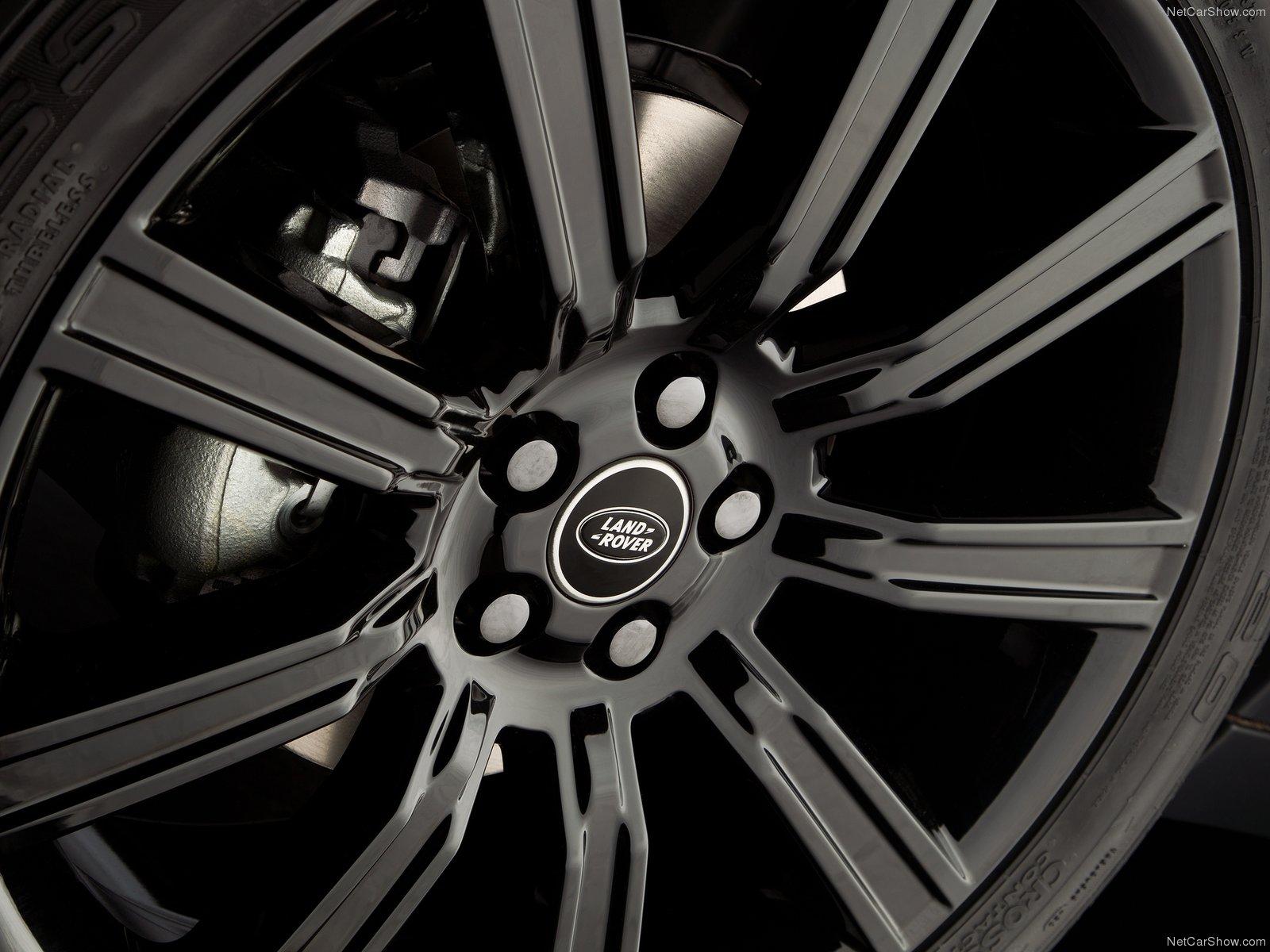 Hình ảnh xe ô tô Land Rover Range Rover Evoque Black Design 2013 & nội ngoại thất