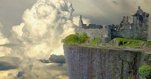 Stunning Views Rocky Perch Kilchurn Castle Scotland