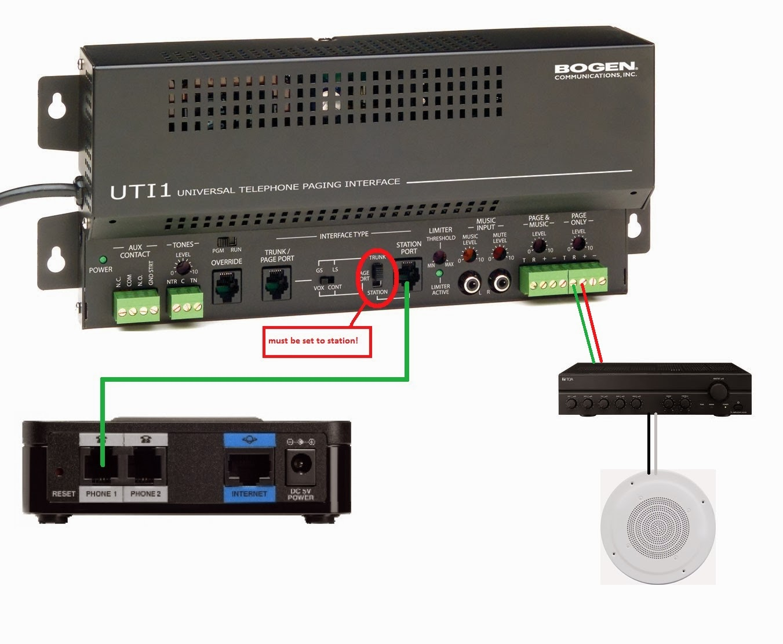 bogen paging system wiring diagram bogen image nyphonejacks uti 1 installation options on bogen paging system wiring diagram