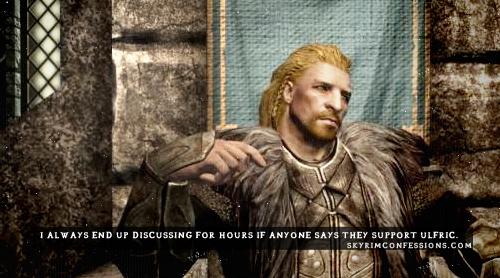 Ulfric Stormcloak Quotes Skyrim Ulfric Confessi...