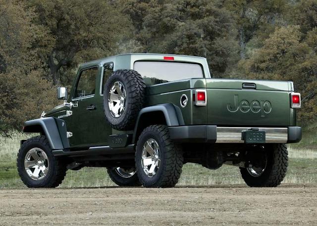 2005 Jeep Gladiator Concept Wrangler pickup
