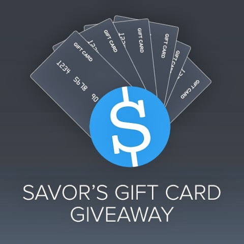 Savor sweepstakes