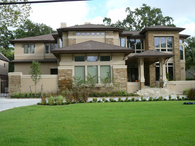 Contemporary craftsman style homes blake 39 s blog for Houston custom home builders floor plans