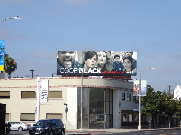 Code Black series premiere billboard