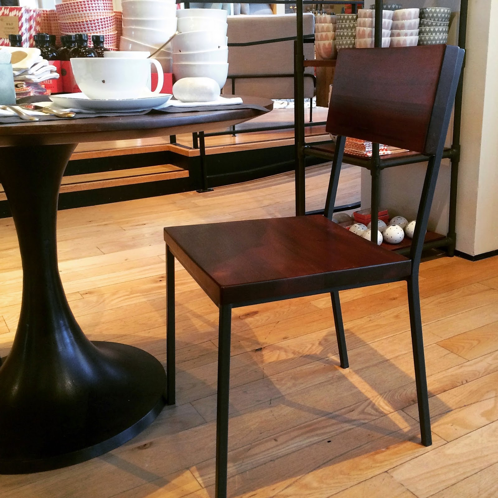 West Elm Dining Room Chairs Librarian Tells All Update A Gallery Wall And Mirror In The