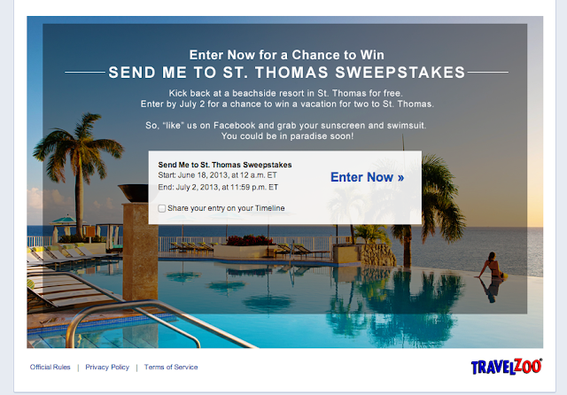 Win a Trip to St. Thomas from Travelzoo!