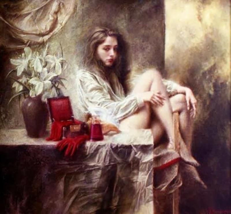 D.W.C. Woman - Painter Valery Vetshteyn
