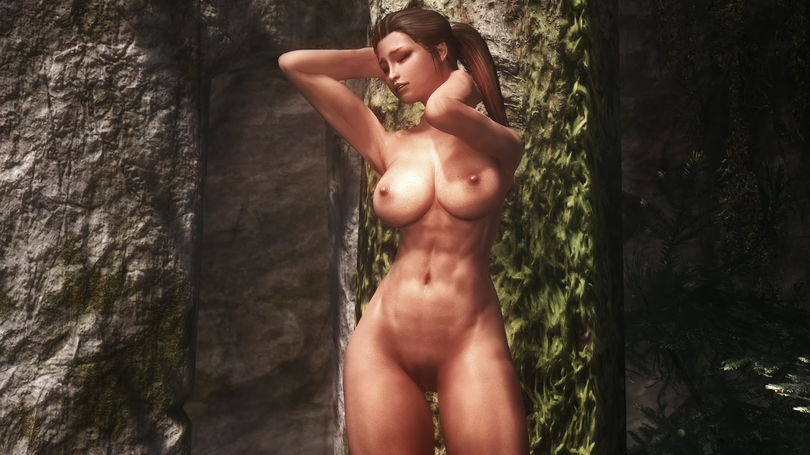 Skyrim naked mod pics cartoon pictures