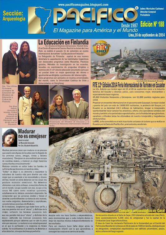Revista Pacífico Nº 188 Arqueología