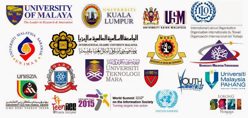 International and National Universities, Programs and Educational Institutions Aisyah Has Spoken To