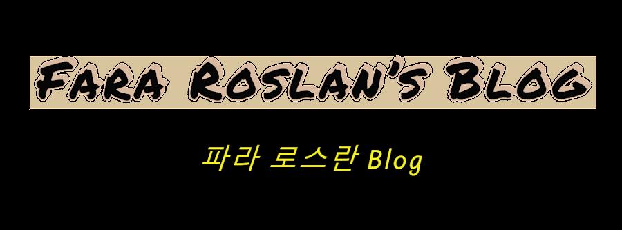 Fara Roslan's Side