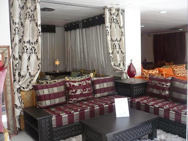 D coration de salon marocain salons du maroc et for Matelas de salon marocain