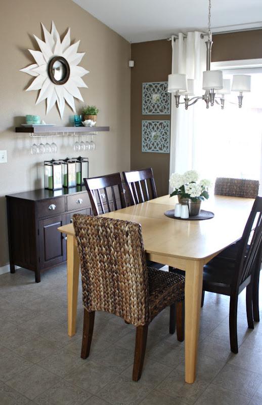Dining Room Brown Teepee Behr