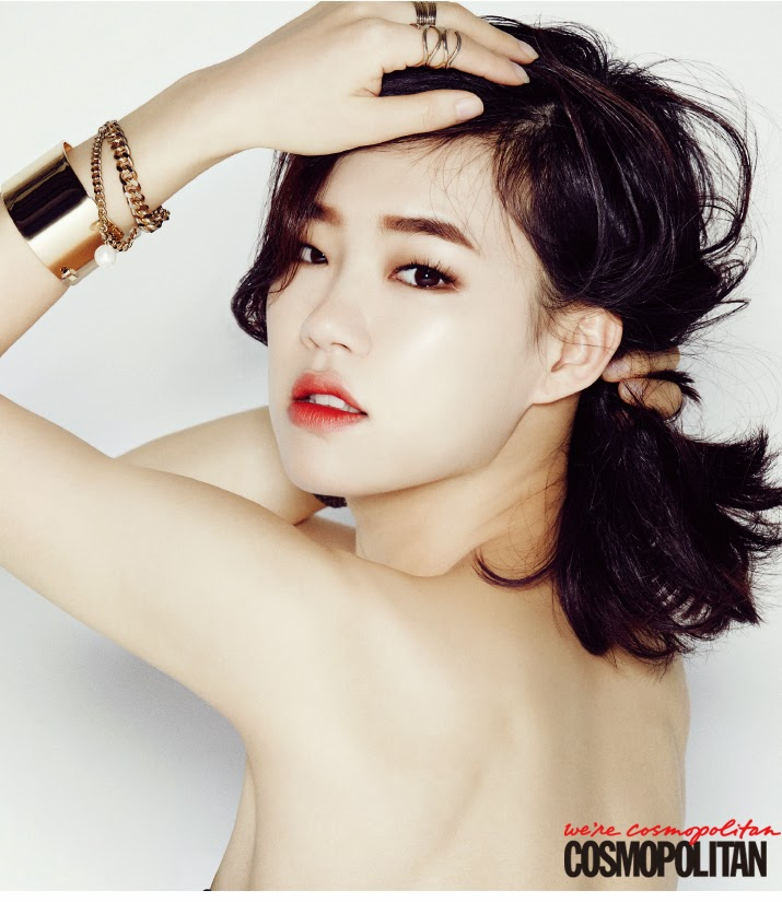 Han Ye Ri - Cosmopolitan Magazine December Issue 2014