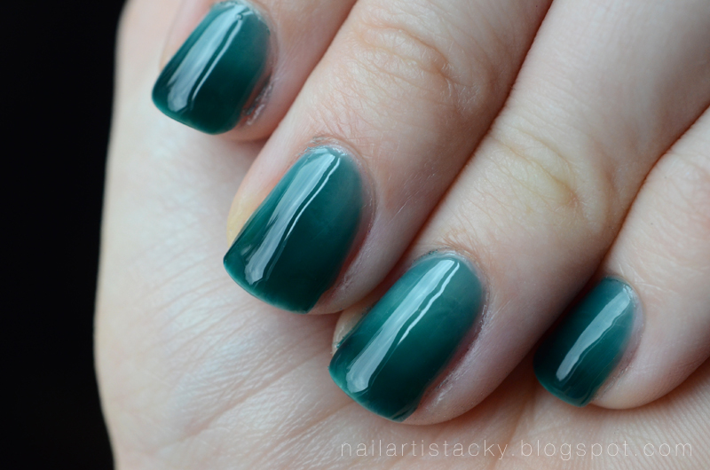 Zoya Frida - Syrup Manicure - Teal Jelly Polish