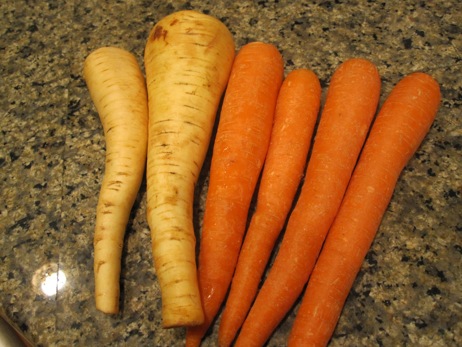 The Apron Gal: Roasted Carrots and Parsnips