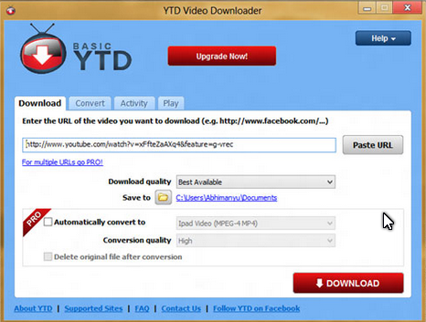 YouTube Downloader (YTD) Pro 4.8.9 Final