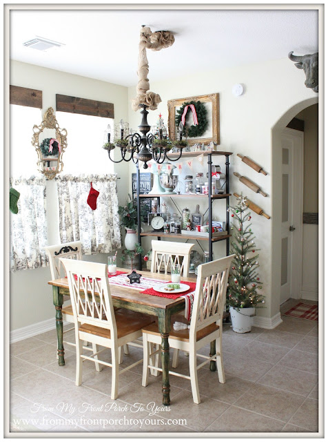 Christmas Farmhouse Style-Vintage Inspired-From My Front Porch To Yours