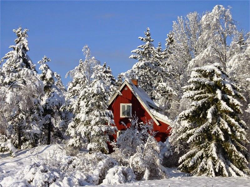 Vinter i Sverige och Holland