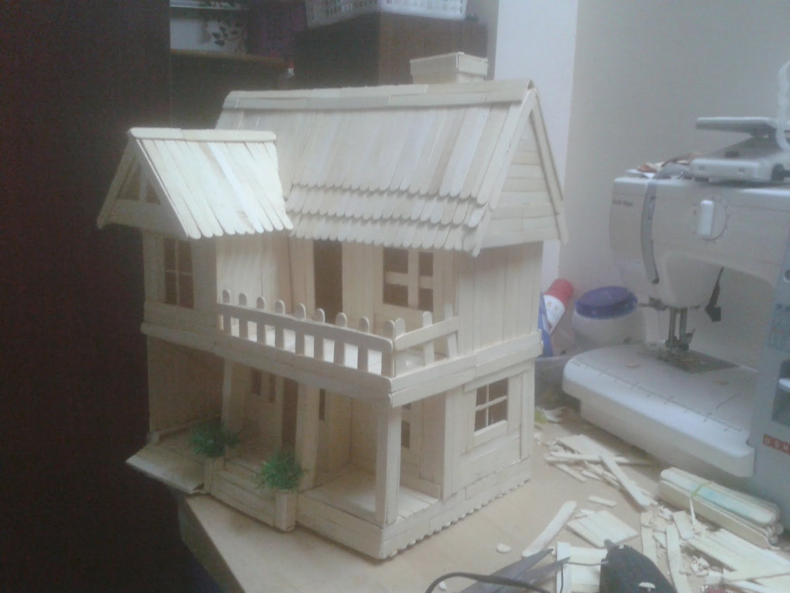 Building a model home for school