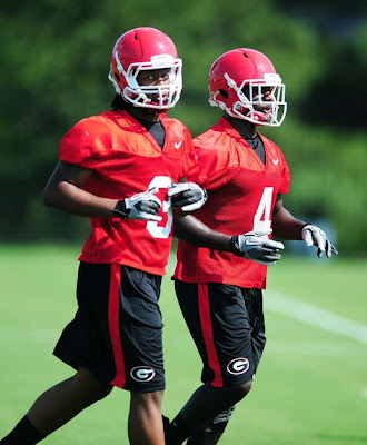 Hershel Walker says Gurshall is not a good name for Georgia's Todd Gurley and Keith Marshall.