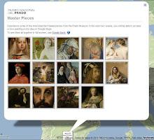 El Museo del Prado en Google Earth