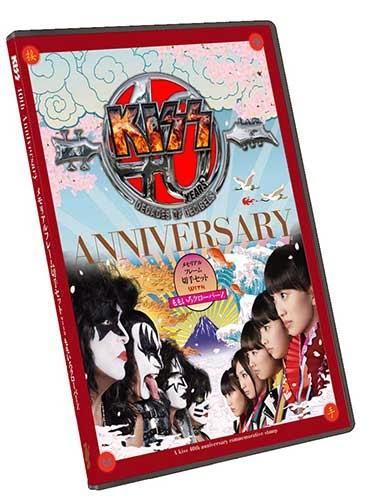 KISS 40th Anniversary メモリアルフレーム切手セット with ももいろクローバーZ01