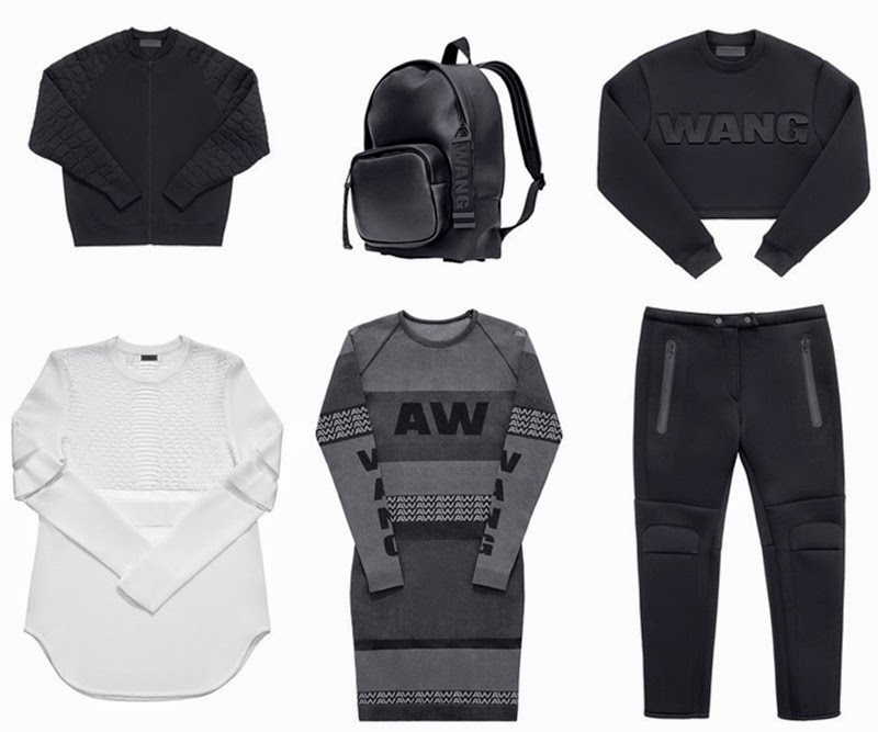 h&m, alexander wang, alexander wang x h&m, fashion, collection, shopping, wishlist, designer, design, new, fashion blog, neoprene, mesh, sporty