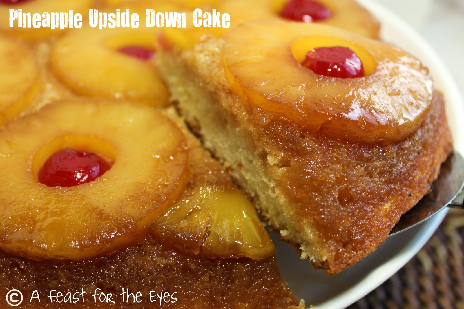 Upside Down Pineapple Cake Mix Recipe