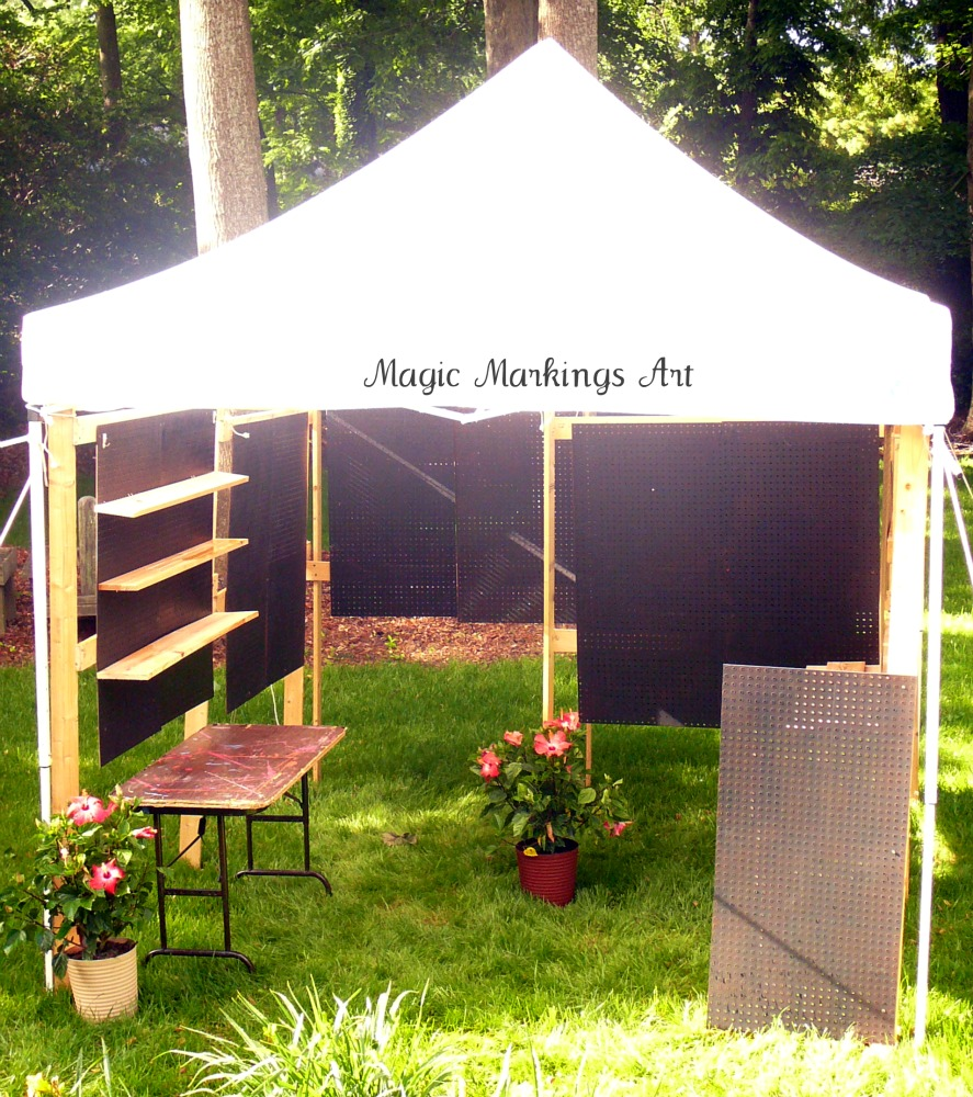 Craft Show Display Tents http://magicmarkingsart.blogspot.com/2011_05_01_archive.html