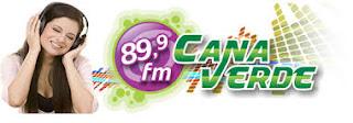 ouvir a Rádio Cana Verde FM 89,9 Siqueira Campos PR