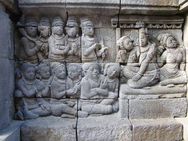 The Borobodur Temple Complex, Indonesia