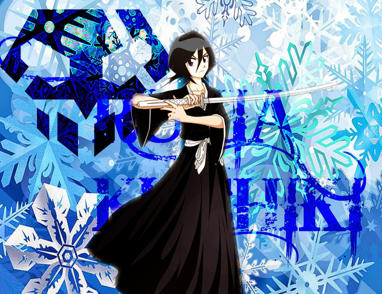 Wallpaper Rukia Kuchiki (Bleach)