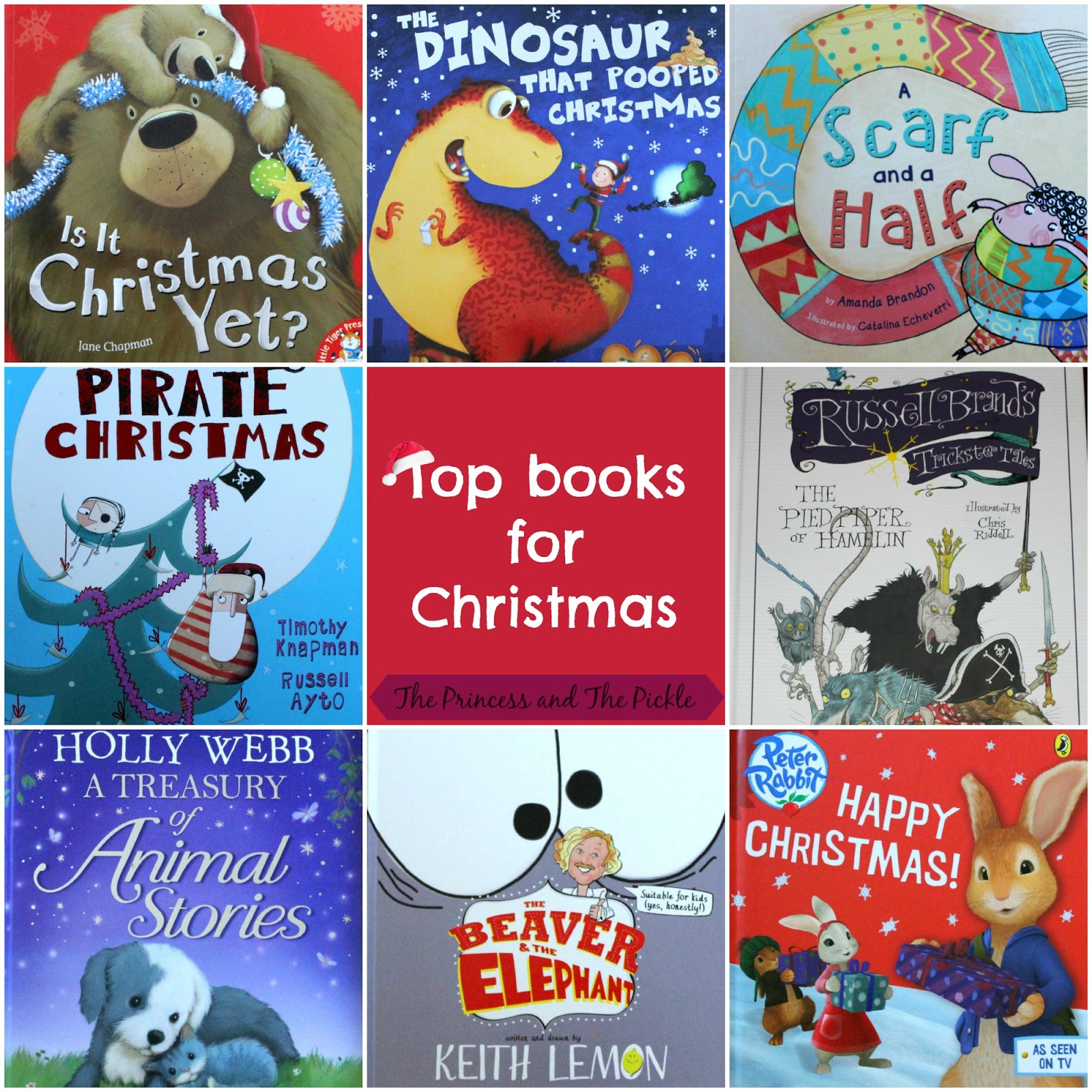 Our Top Books for Christmas!