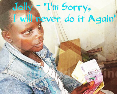 Exclusive ! Ugandan Nanny who battered baby asks for forgiveness, explains why she did it..