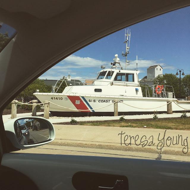 United States U.S. Coast Guard USCG Sturgeon Bay Door County Wisconsin boat maritime working waterfront