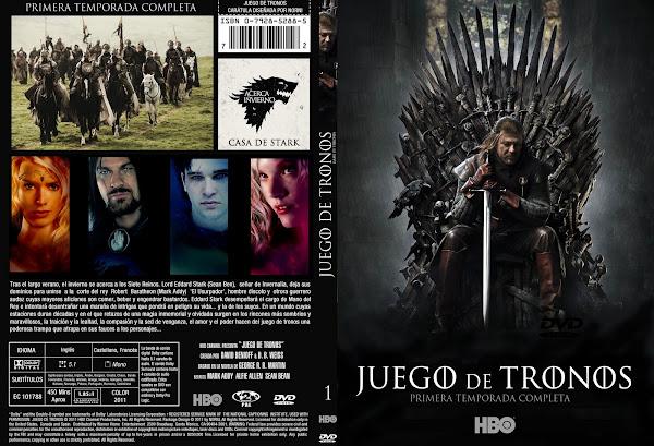 juego de tronos dvd portada serie