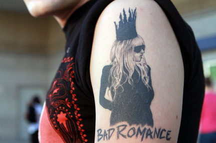 lady gaga tattoos pictures