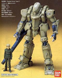 Na verdade é o model kit e o protagonista em escala